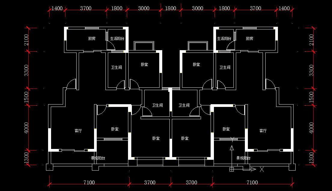按照片画一套房的平面图-70号任务-2号作品-天下威客